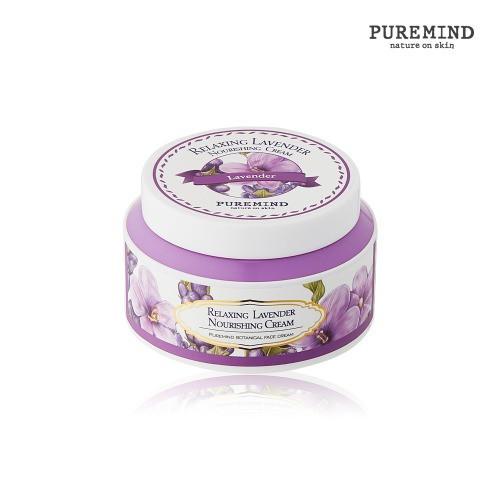 Puremind Расслабляющий Крем для лица с Лавандой Relaxing Lavender Nourishing Cream 100 мл.