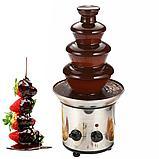 Шоколадный фонтан-фондю Chocolate Fondue Fountain (4 яруса), фото 3