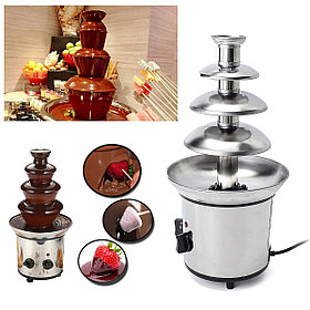Шоколадный фонтан-фондю Chocolate Fondue Fountain (4 яруса)
