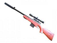 Игрушечная снайперская пневматическая винтовка модель:646-2