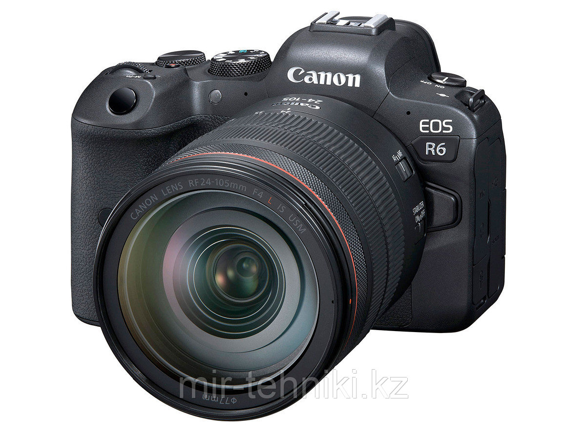 Фотоаппарат Canon EOS R6 body kit Canon EF 24-105mm F4 L IS II USM +  Mount Adapter Canon EF-EOS R