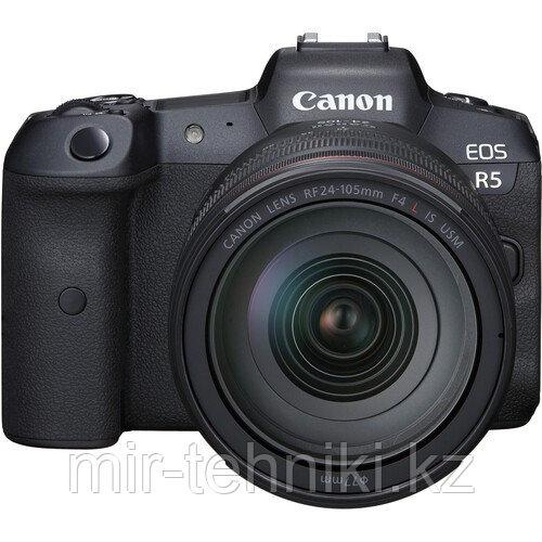 Фотоаппарат Canon EOS R5 kit EF 24-105mm F4L IS II USM + Mount Adapter Viltrox EF-EOS R