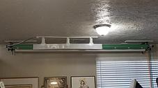 Роликовое крепление для 2-х фонов . Универсальные 3в1 \ на стойки/стену/потолок на 48мм, фото 3