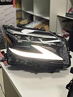 Передние фары на Lexus GX460 2014-19 дизайн 2020