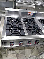 Газовая плита 4 конфорки для приготовления пищи