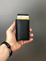Кожаный картхолдер с RFID защитой, фото 5