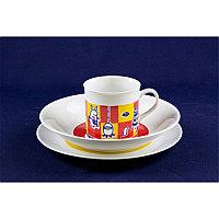 Набор детской посуды 3 пред. Bohemia