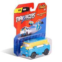 Flip Cars Машинка-трансформер 2 в 1 Автобус и Микроавтобус