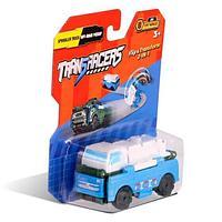 Flip Cars Машинка-трансформер 2 в 1 Водовоз и Внедорожный Пикап
