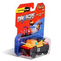 Flip Cars Машинка-трансформер 2 в 1 Фронтальный Погрузчик и Пожарная Машина