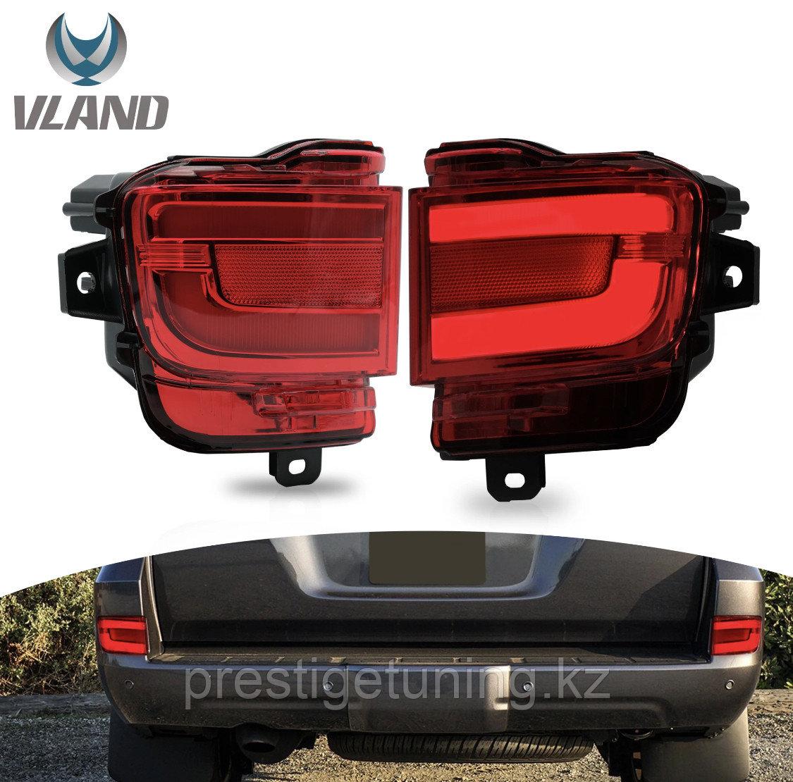 Туманки в задний бампер диодовые (красные) Land Cruiser 200 2016-21