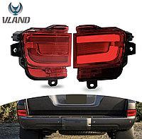 Туманки в задний бампер диодовые (красные) Land Cruiser 200 2016-21, фото 1