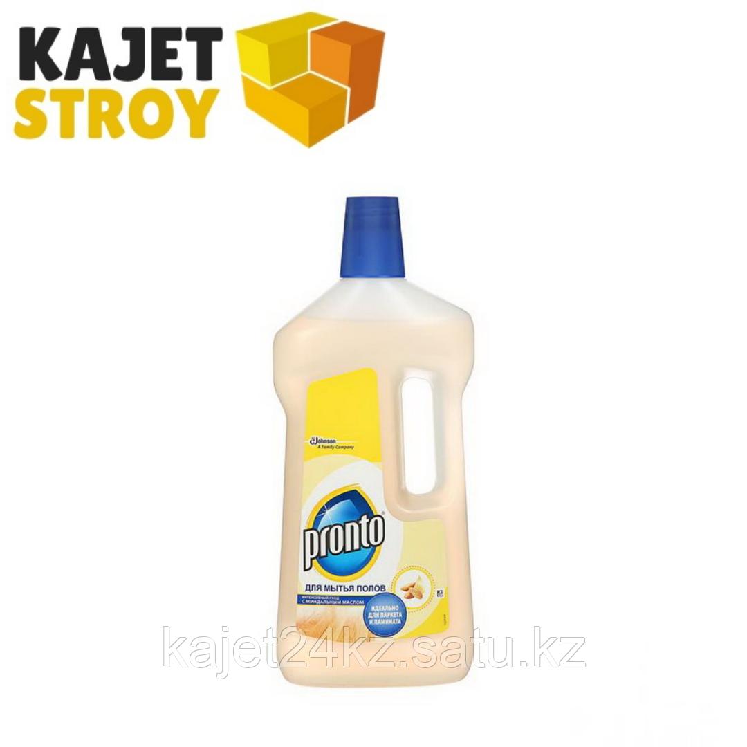 Средство для мытья полов с миндальным маслом Pronto, 750 мл