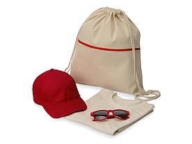 Набор для прогулок Shiny day, XL, красный