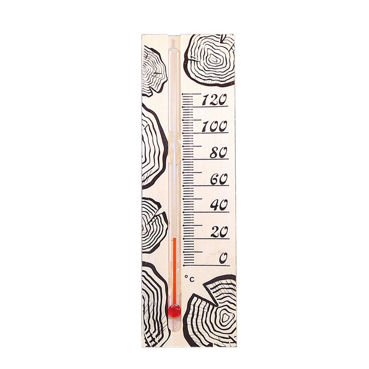 Термометр д/бани, жидкостный, 165х50х15мм