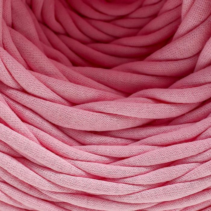"Трикотажная лента ""Лентино"" лицевая 100м/320±15гр, 7-8 мм (св. розовый) - фото 7"