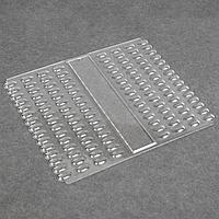 Палитра для лаков, 120 ногтей, 21,5 × 18 см, цвет прозрачный