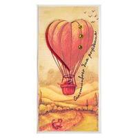 Конверт для денег 'Счастливого Дня Рождения!' ручная работа, воздушный шар