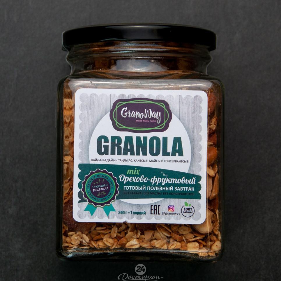 Домашняя гранола GranoWay Орехово-фруктовый mix  На развес