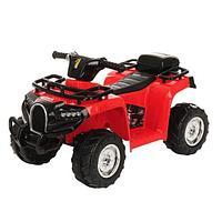 PITUSO Электроквадроцикл 6V/4.5Ah*1,20W*1,колеса пласт,MP3,свет,муз,78*50*47 см,Красный/RED, фото 1