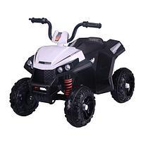 PITUSO Электроквадроцикл 6V/4.5Ah*2,40W*2,колеса EVA,MP3.,кож.сид.,амортиз.,86*56*66 см,Белый/WHITE