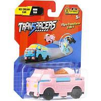 Flip Cars Машинка-трансформер 2 в 1 Автомобиль с мороженым и Мини-фургон