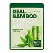 Освежающая маска с экстрактом бамбука, FarmStay Real Bamboo Essence Mask