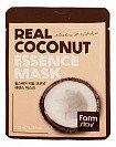 Увлажняющая тканевая маска с экстрактом кокоса, Real Essence Mask Coconut