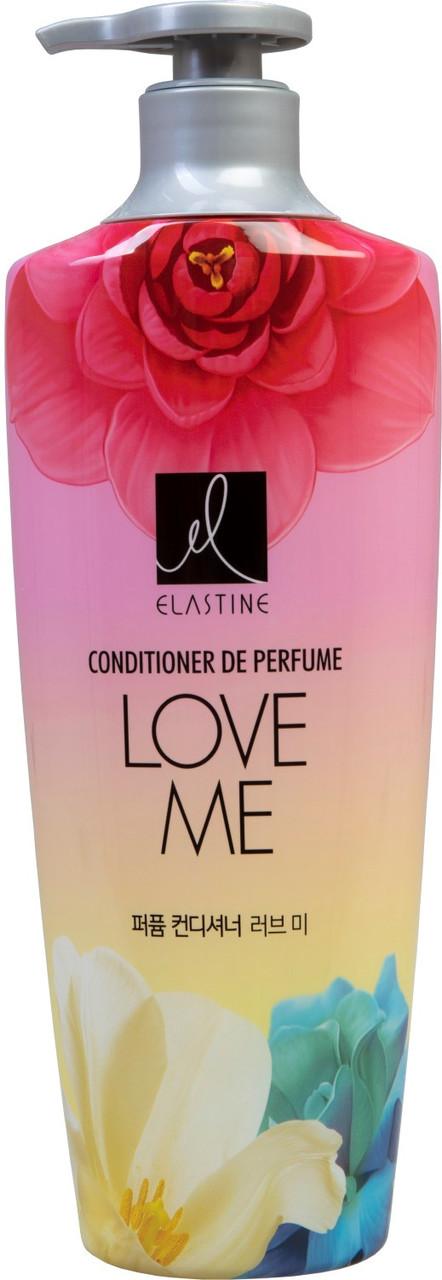 LG Elastine Парфюмированный кондиционер для всех типов волос Perfume Love Me Conditioner / 600 мл.
