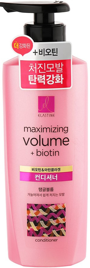 LG Elastine Кондиционер для придания объема с коллагеном Marina Collagen Volume Care Conditioner / 400 мл.