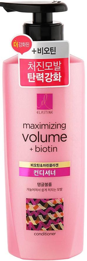 LG Elastine Marina Collagen Volume Care Conditioner Кондиционер для придания Объема с морским коллагеном 400мл