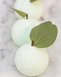 Бомбочка для  ванны. Зеленое яблоко Soap factory