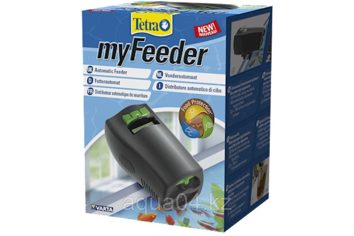 Tetra myFeeder кормушка автоматическая черная на батарейках