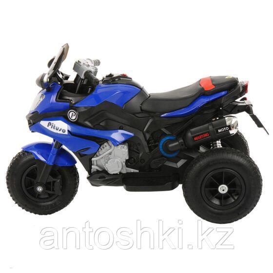 PITUSO Электромотоцикл HLX2018/2, 12V/7Ah*1,колеса надув.,108х46х76 см, Blue/ Синий (музыка,свет) - фото 2