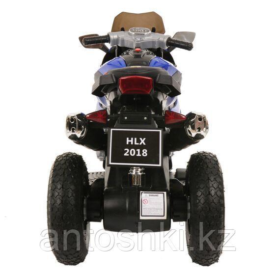 PITUSO Электромотоцикл HLX2018/2, 12V/7Ah*1,колеса надув.,108х46х76 см, Blue/ Синий (музыка,свет) - фото 4