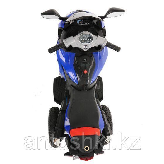 PITUSO Электромотоцикл HLX2018/2, 12V/7Ah*1,колеса надув.,108х46х76 см, Blue/ Синий (музыка,свет) - фото 5