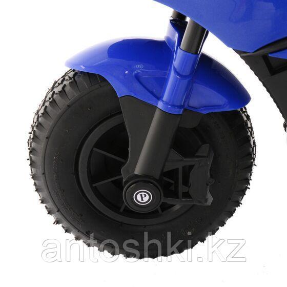 PITUSO Электромотоцикл HLX2018/2, 12V/7Ah*1,колеса надув.,108х46х76 см, Blue/ Синий (музыка,свет) - фото 6