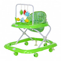 BAMBOLA Ходунки ЗВЕРУШКИ (6 пласт.колес,игрушки,муз) 7 шт в кор.(66*53*55) Зеленый