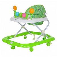 BAMBOLA Ходунки ЦВЕТОЧЕК (6 пласт.колес,игрушки,муз) 7 шт в кор.(66*53*52) GREEN Зеленый, фото 1