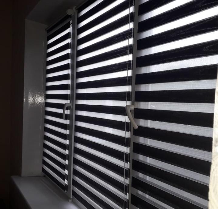 Жалюзи вертикальные горизонтальные ролл шторы день ночь - фото 5
