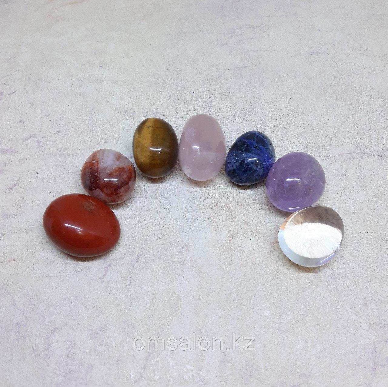 Чакровый набор из 7 минералов