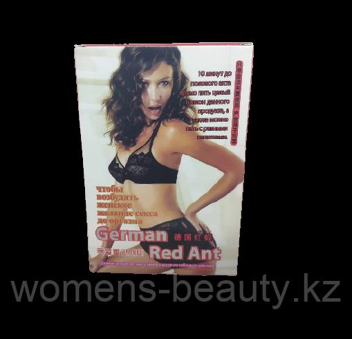 Германский красный муравей - Возбуждающие капли, Афродизиак для Женщин.