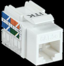 ITK Модуль Keystone Jack категория 5Е UTP 110 IDC 90 градусов ИЭК