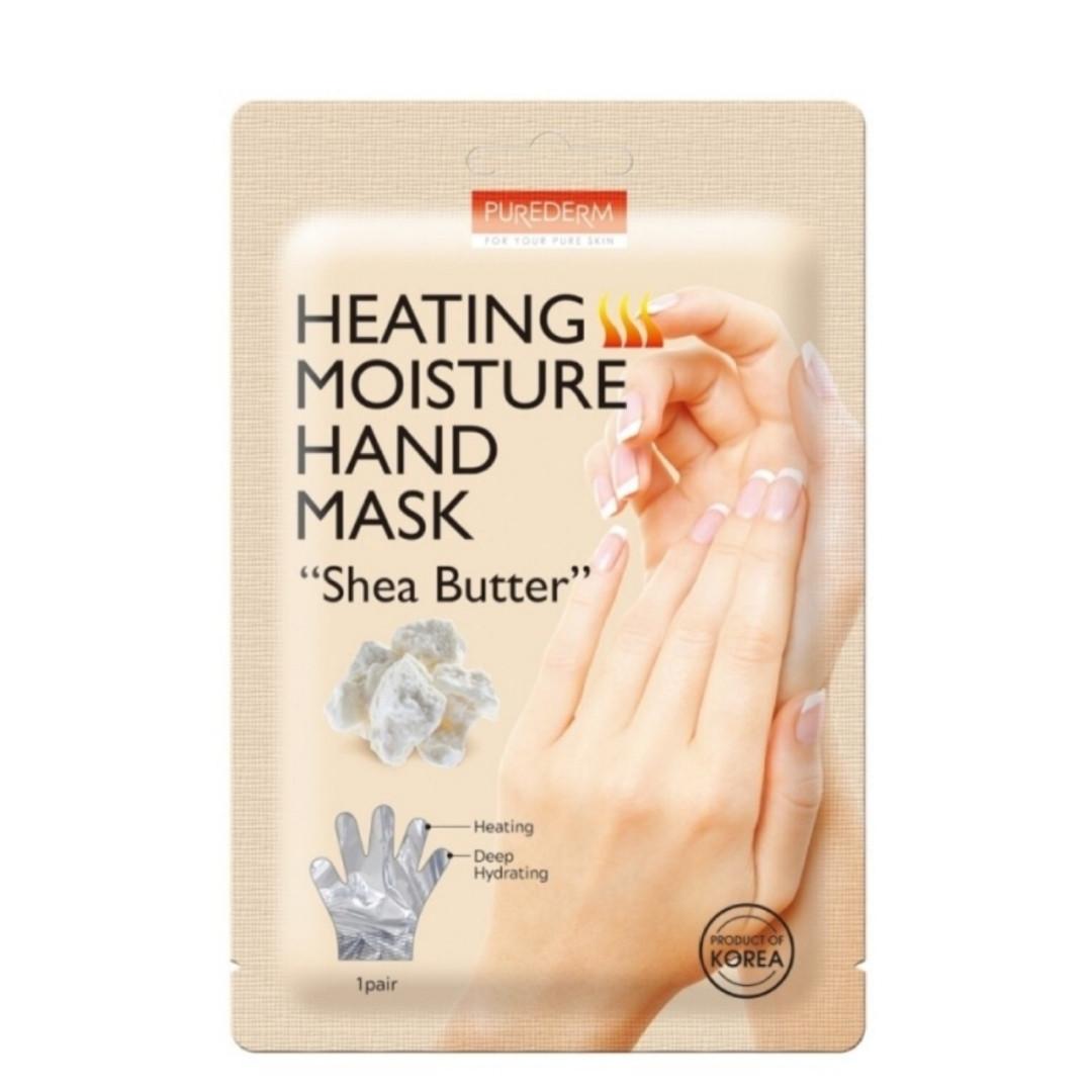 "Согревающая увлажняющая маска для рук Purederm «Масло Ши» PUREDERM Heating Moisture Hand Mask ""Shea Butter"""