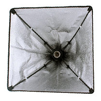 Софтбокс 60Х60 см Студийный с патроном на 1 лампу, фото 3