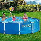 Каркасный бассейн Intex 366 х 76 см с фильтром 28212, фото 3
