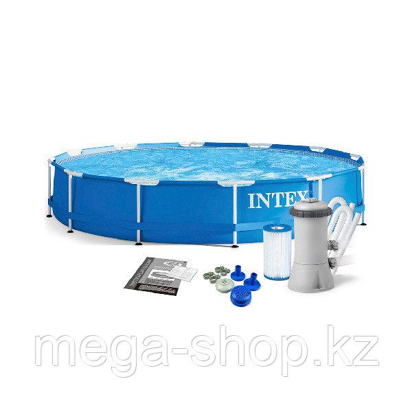 Каркасный бассейн Intex 366 х 76 см с фильтром 28212