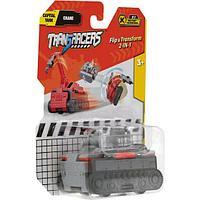 Flip Cars Машинка-трансформер 2 в 1 Flip Vehicle Танк - Автокран