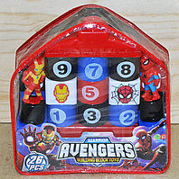 368-42А Мстители констр в рюкзаке Avengers 26дет. 20*20см, фото 1