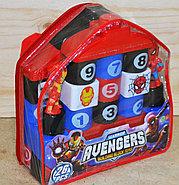 368-42А Мстители констр в рюкзаке Avengers 26дет. 20*20см, фото 2